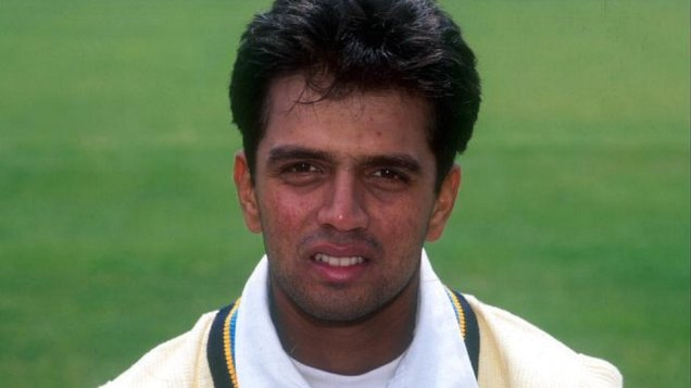 Image result for dravid first test match
